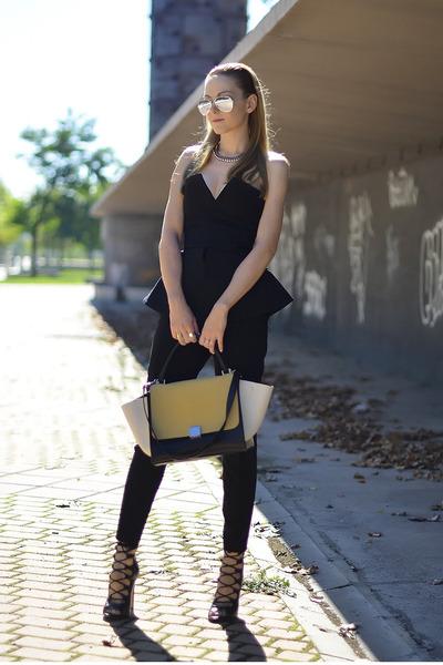 Celine bag - Zara shoes
