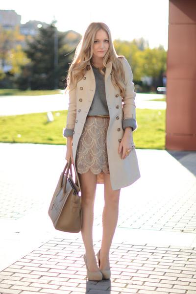 AWear skirt - Zara coat - Celine purse