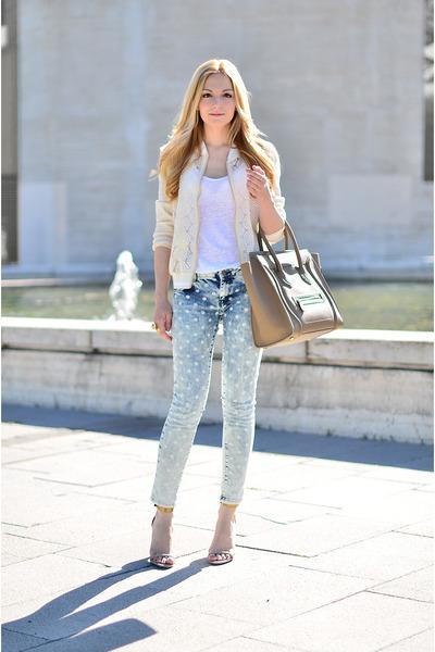 Zara jeans - Celine bag