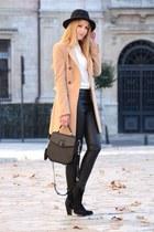 Queens Wardrobe coat - romwe bag