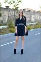 Zara blazer - Celine bag