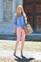 Mango shirt - Zara jeans