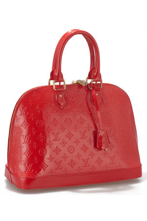 red Louis vuittton accessories