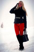 Michael Kors pants - asos gloves
