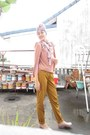 Twiscone-minimal-dress-cotton-hammer-pants