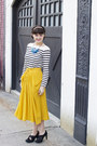 Stripes-stylists-own-top-yellow-stylists-own-skirt-black-stylists-own-heels