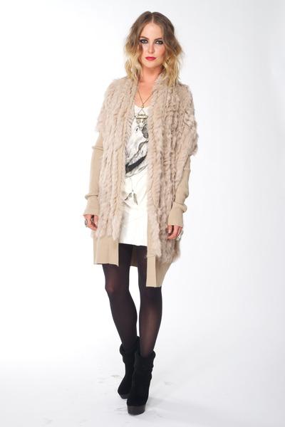 fur Halebob sweater - cher bootie Madison Harding boots
