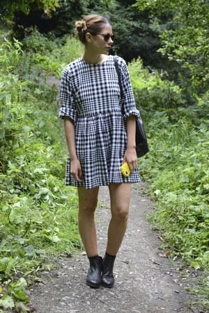 Topshop boots - Topshop dress