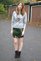 Primark boots - glamorouscom skirt
