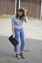 Levis jeans - Office shoes - Primark t-shirt