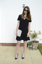 Miss Selfridge dress - Matalan bag - Zara heels
