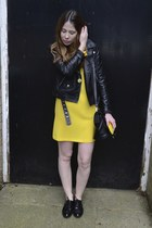 H&M jacket - Matalan shoes - Zara dress