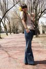 Blue-gap-jeans-yellow-anthropologie-accessories-camel-leopard-print-diane-vo