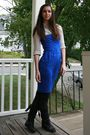 Blue-express-dress-silver-proenza-schouler-for-target-shirt-black-anthropolo