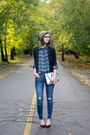 Navy-old-navy-jeans-army-green-urban-outfitters-hat-navy-loft-shirt