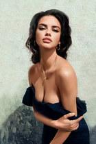 low cut ruffles Macys dress - Macys necklace