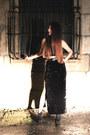 Black-aldo-boots-black-velvet-evil-twin-skirt-black-mink-pink-top