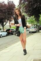 Zara shorts - Topshop blazer