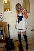 chic star dress - H&M socks