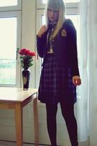 new look blazer - H&M shirt - Gap skirt