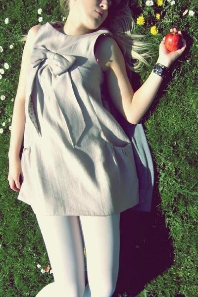 River Island dress - Gatta tights