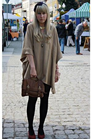 beige H&amp;M - brown Primark bag