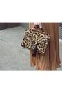 Camel-siren-bag-tan-romwe-skirt-black-new-look-wedges