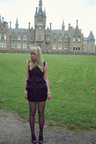 The Sunshine Avenue dress - tightspleasecouk stockings - new look boots - Claire