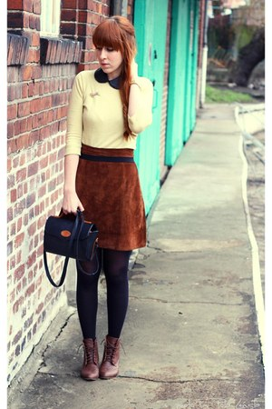 vintage skirt - Primark jumper