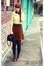 Vintage-skirt-primark-jumper