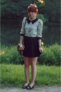 Ivory-lace-lalamagic-blouse-black-h-m-skirt