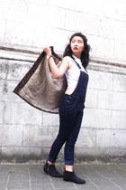 H&M boots - lightinthebox coat - new look top - Pimkie romper