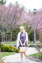 light purple mini dress Gentle Fawn dress - white Gentle Fawn cardigan