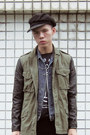 New-york-hat-hat-h-m-jeans-h-m-jacket-zaku-design-factory-t-shirt
