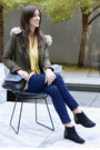 Black-studded-topshop-boots-olive-green-zara-coat