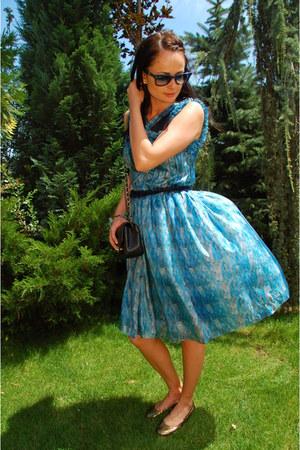 Rodarte dress - Chanel bag - Jimmy Choo flats