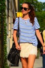 Bucket-bag-barbara-bui-bag-lace-zara-shorts-saint-james-top