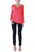 Watermelon Knit - Long Sleeve Sweater