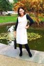 Black-velvet-boots-beige-midi-soljerry-dress-black-long-bag-black-zara-top