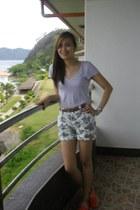 F&H shorts - Gap blouse