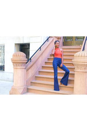 asos top - blue PYLO jeans