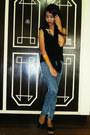 Denim-baleno-jeans-black-beso-beso-top-gold-blas-accessories