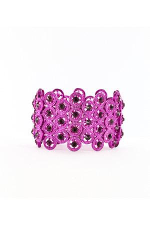 amethyst rhinestones INPINKcom bracelet