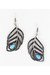 turquoise blue leaf stone INPINKcom earrings