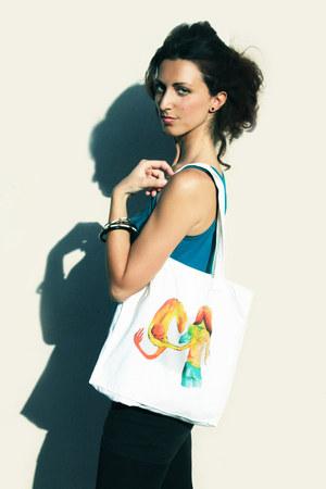 ivory INVERTED COMMAS bag
