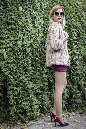 beige cute Zara coat