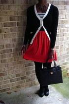 sassy Sassy in red dress