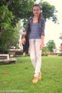 Ivory-acid-wash-penshoppe-jeans-heather-gray-military-blazer