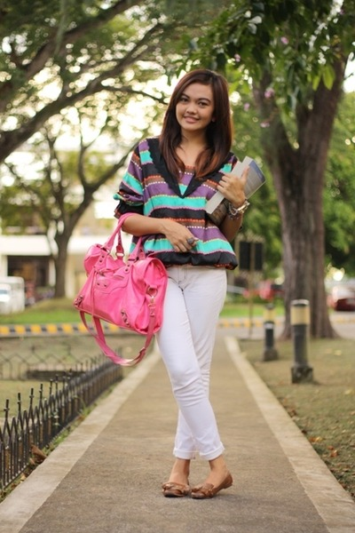 Hot Pink Balenciaga Bag