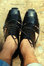 black Hand Made shoes